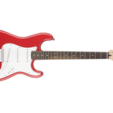 Fender Squier MM Stratocaster Hard Tail (Red, Black)