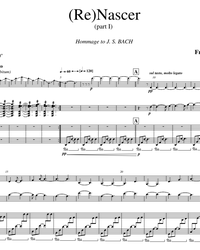 Sheet music, tabs for guitar. Rebirth (ReNascer).