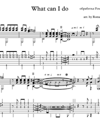 Sheet music, tabs for guitar. What can I do.