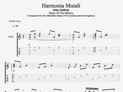 Harmonia Mundi - Oldfield Mike