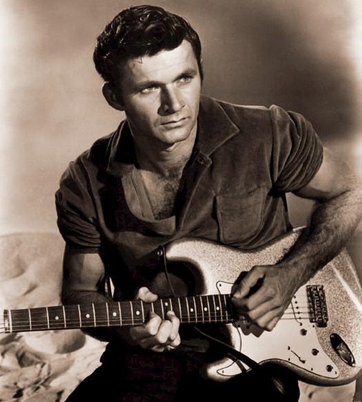 Dick Dale with his Guitar