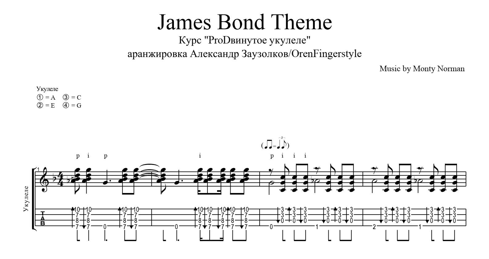 The James Bond Theme - Monty Norman